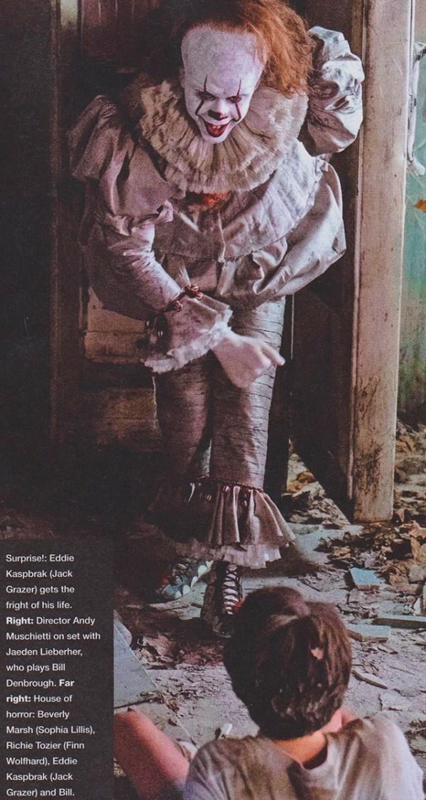 Nuevas imágenes del payaso Pennywise en la revista Empire