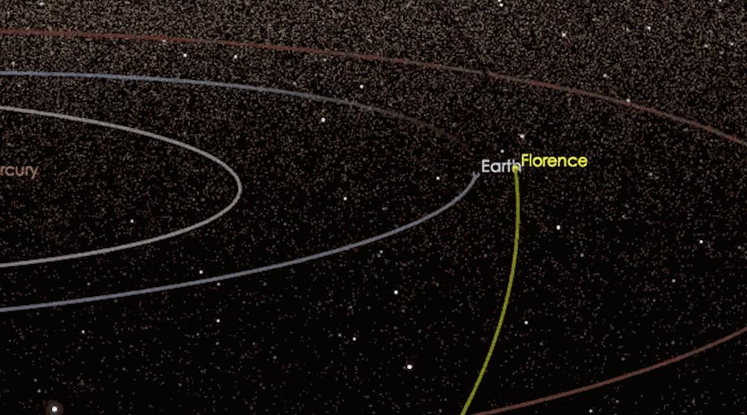 Florece pasará a 7 millones de kilómetros de la tierra.