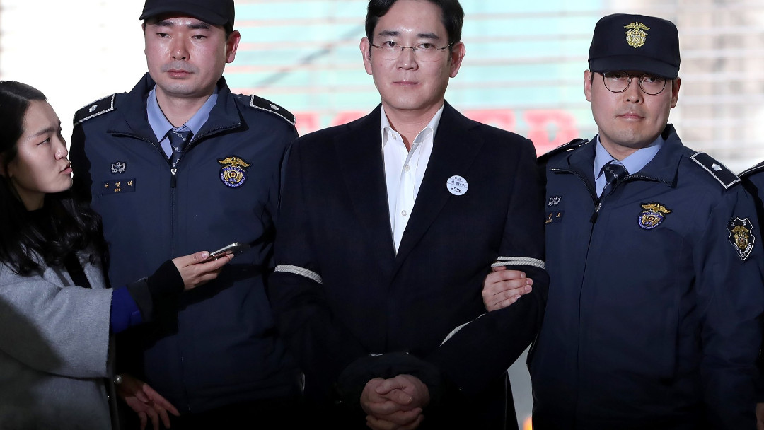 El príncipe heredero de Samsung, Lee Jae-yong, podría pasar 12 años en la cárcel