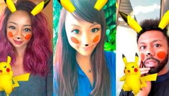 Pikachu está llegando a Snapchat para hacerte lucir de lo más tierno