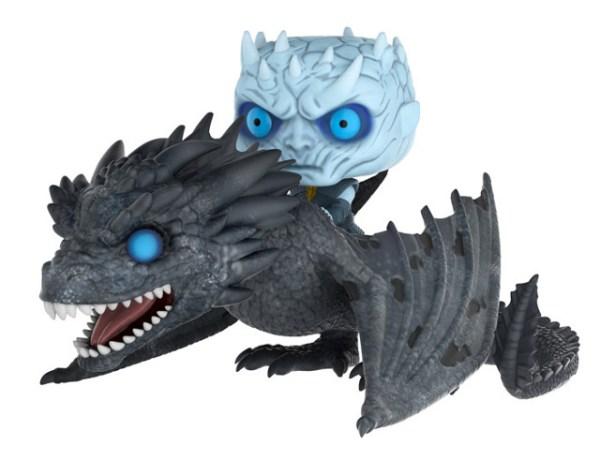 Funko sacará la figura del Rey de la Noche sobre el dragón Viserion.