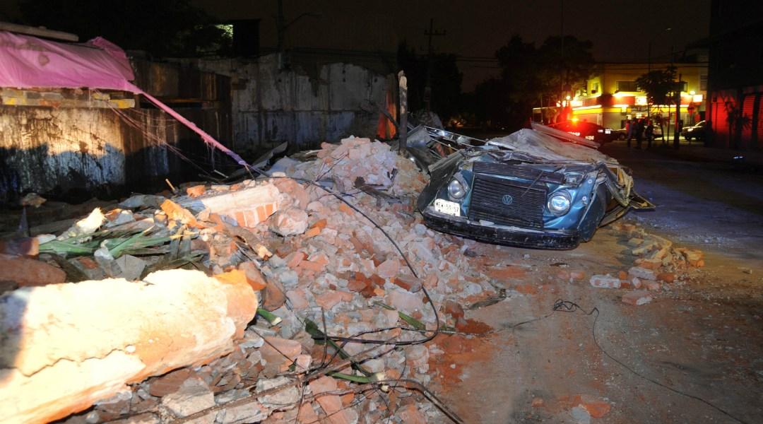 Afectaciones por el sismo en la CDMX