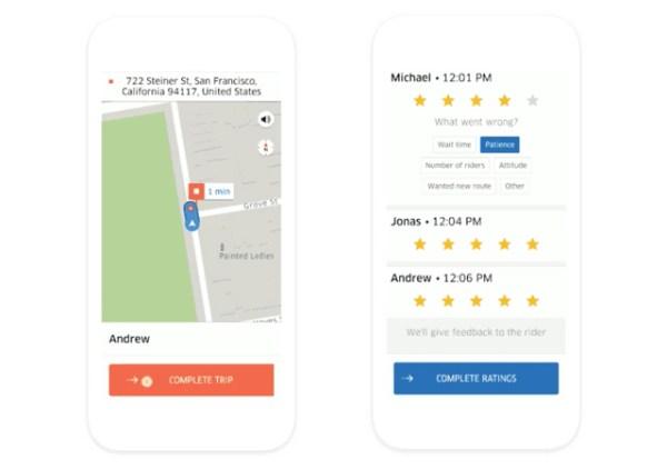 Los conductores de Uber podrán reportar a los usuarios.