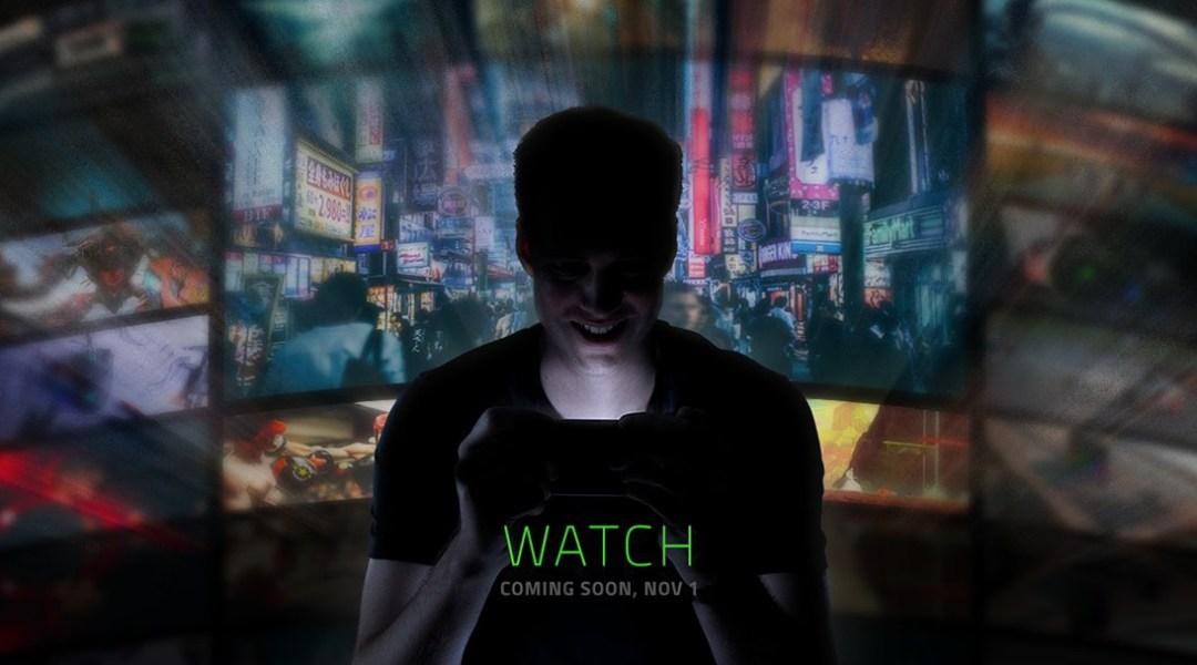 Razer presentará un nuevo smartphone en próximo 1º de noviembre