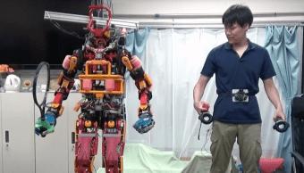 Este robot rescatista puede ser operado con el sistema HTC Vive