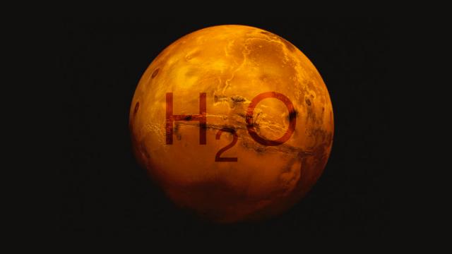 Descubren lago de agua líquida bajo la superficie de Marte