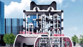 Conoce la máquina expendedora de coches que Alibaba piensa poner en China