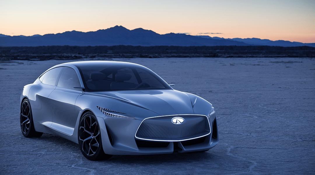 El nuevo concepto de Infiniti es como un coche de James Bond