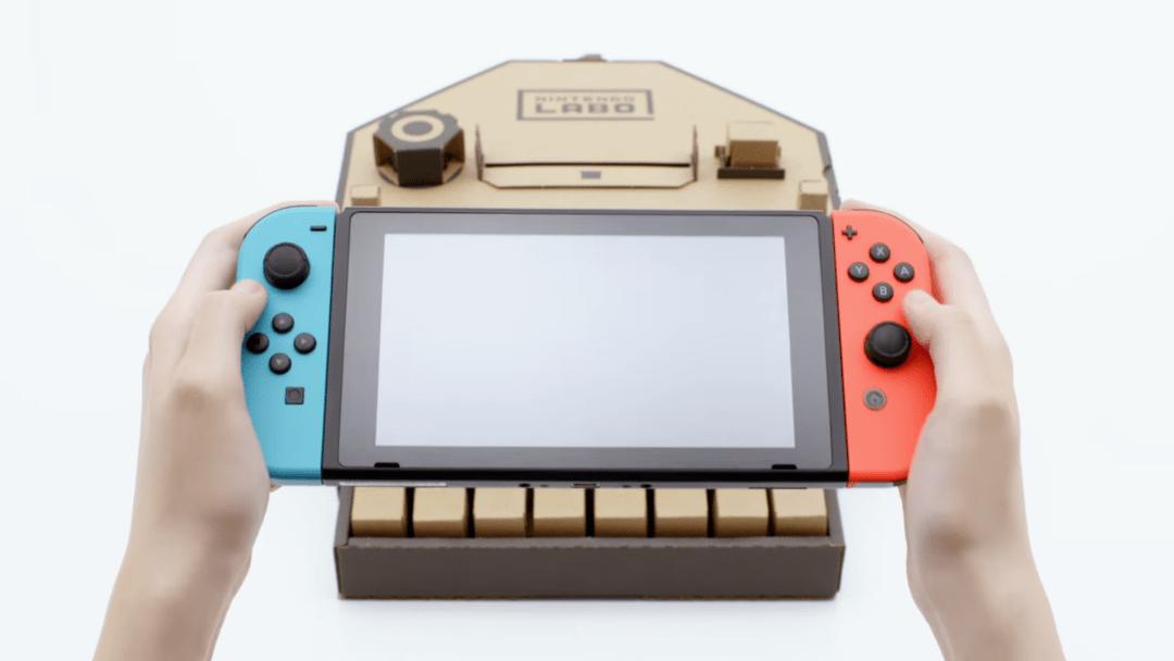 Nintendo podría lanzar nuevos periféricos para Switch además de Labo