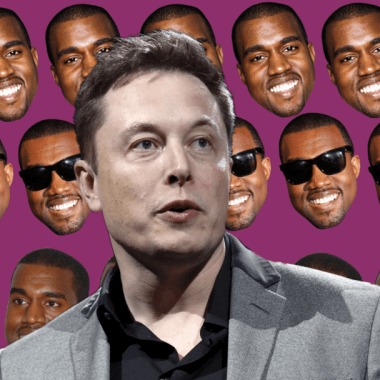 Elon Musk y Kanye West