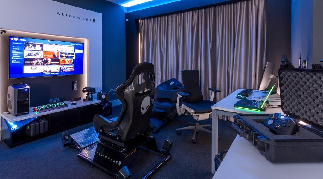Alienware Cre 243 Una Incre 237 Ble Habitaci 243 N De Hotel Para Gamers