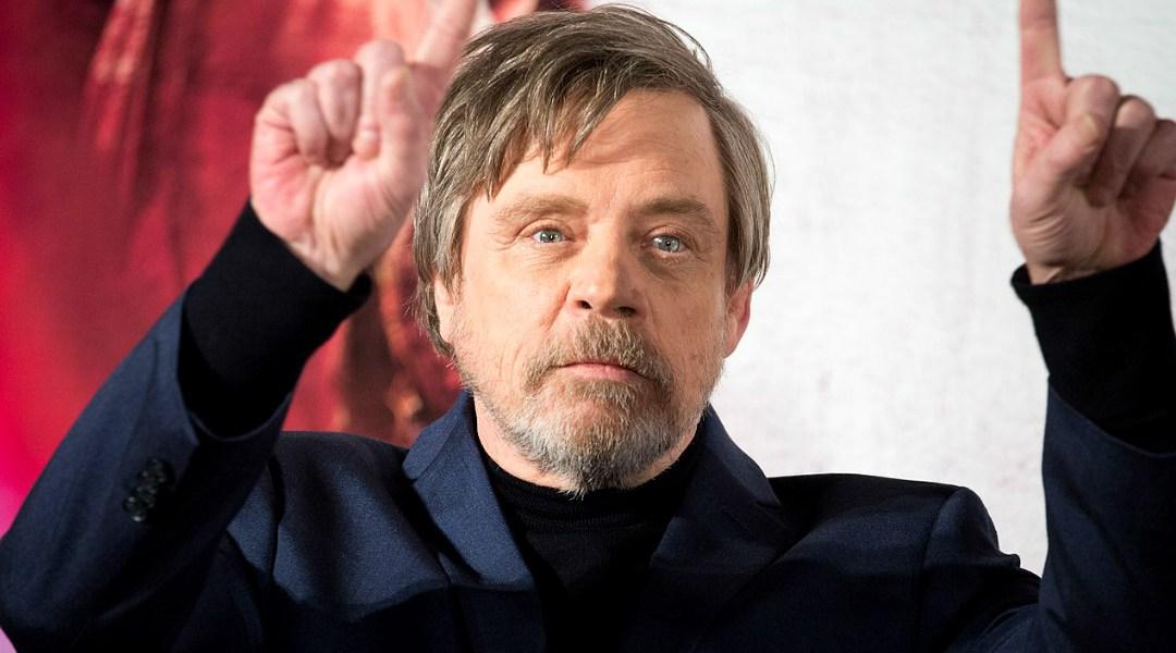 Mark Hamill, el actor que interpeta a Luke Skywalker