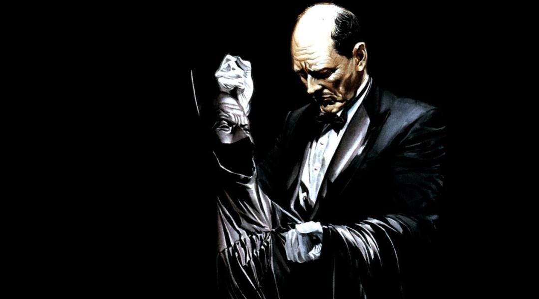 Alfred dibujado por Alex Ross.