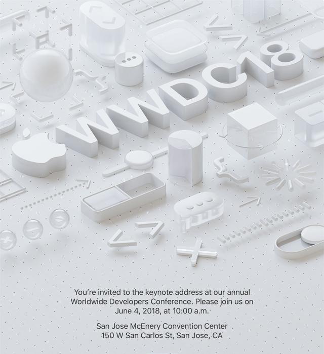 Apple-WWDC-2018-invitacion