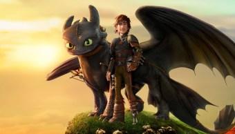 El primer póster de Cómo entrenar a tu dragón 3