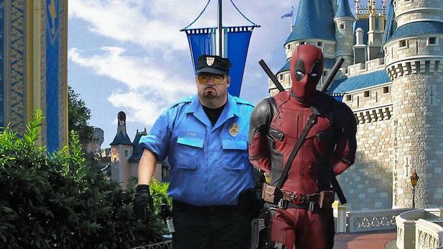 Deadpool es corrido de Disney en una imagen promocional