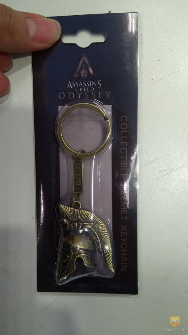 Llavero filtrado de Assassin's Creed Odyssey.