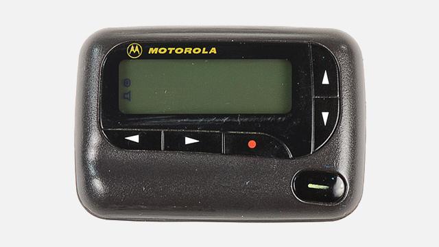 Foto de un Motorola Advisor Elite