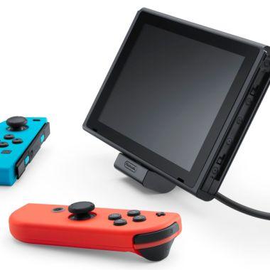 Foto promocional de consola Nintendo Switch