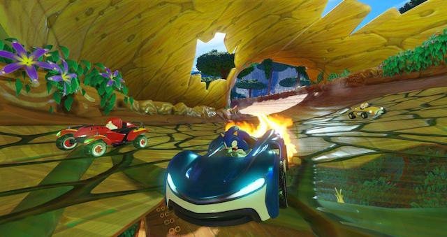imagen de Team Sonic Racing, el nuevo juego de Sega