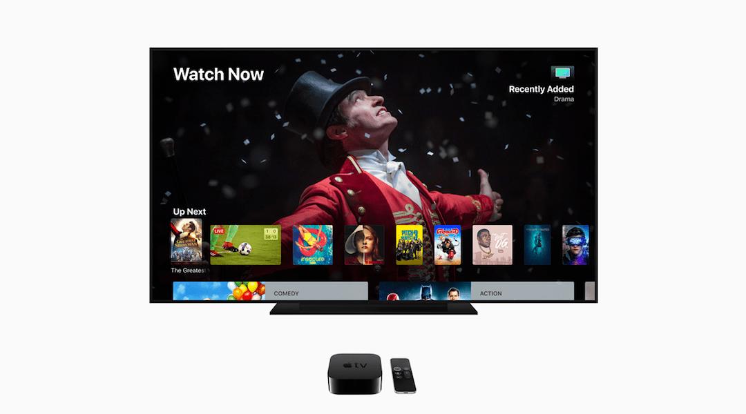 Apple Tv 4K ahora tendrá certificados de alta calidad y sonido