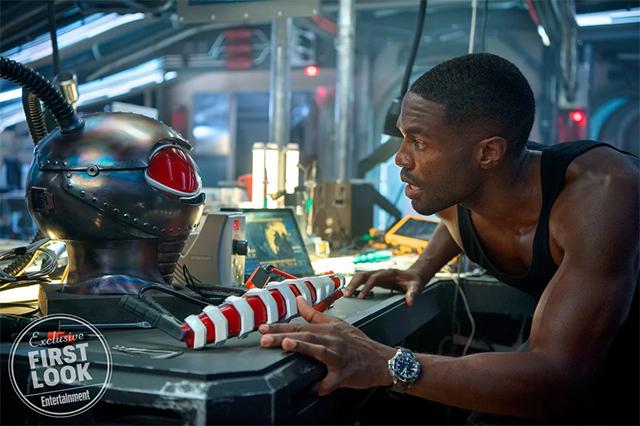 El actor afroamericano que interpreta a Black Manta
