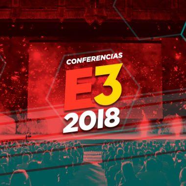 E3 2018 imagten que refiere a las Conferencias del evento