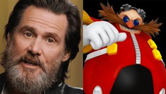 Jim Carrey será el Doctor Eggman en una pelicula