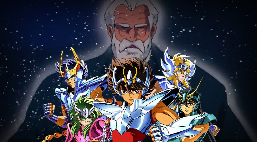 Mitsumasa Kido el padre Caballeros del Zodiaco