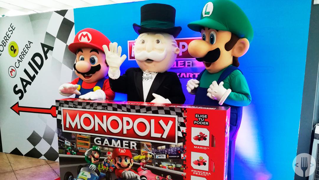El Monopoly Gamer Mario Kart Lanzamiento-Mexico