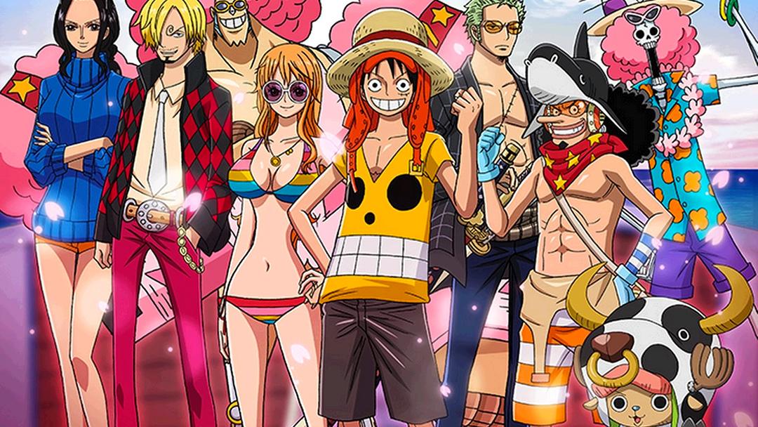 Los personajes del anime One Piece