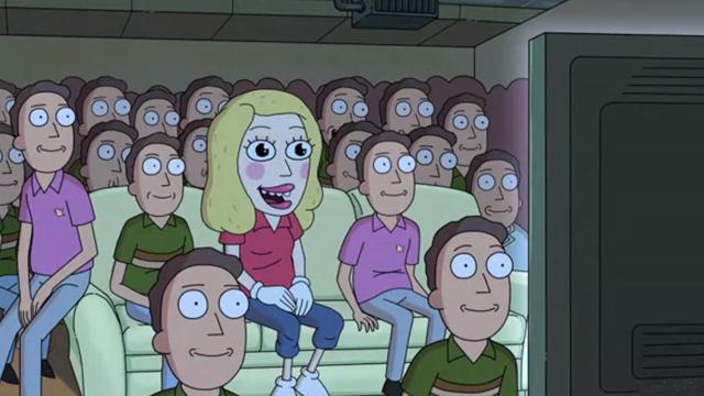 Fotograma de Rick & Morty, serie de Adult Swim