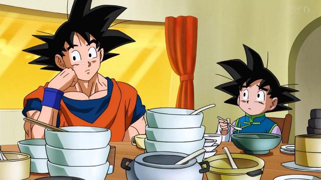 Goku en una escena de Dragon Ball Super