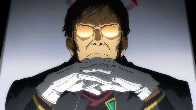El personaje Gendo Ikari de Evangelion