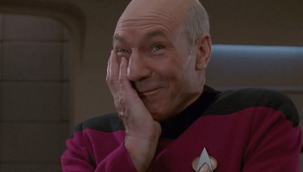 El capitán de Star Trek, Jean Luc Picard
