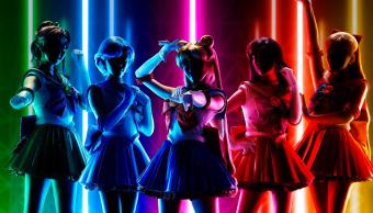 Sailor Moon espectaculo de luz y sonido