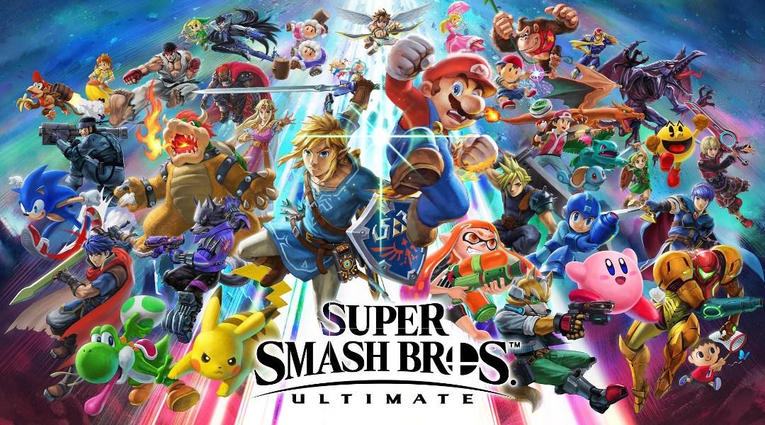 imagen promocional de Super Smash Bros Ultimate