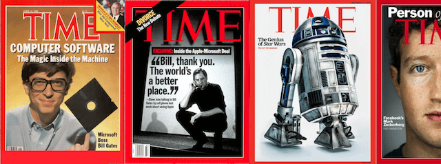 Algunas portadas de la revista Time.