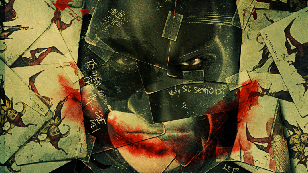 Póster oficial de la película Dark Knight