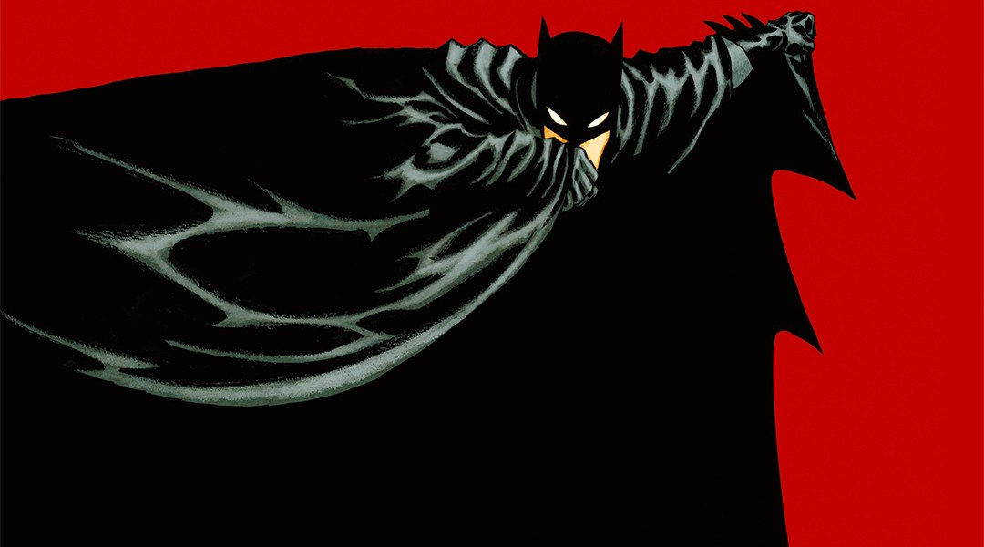 Batman en la portada de Batman Year one