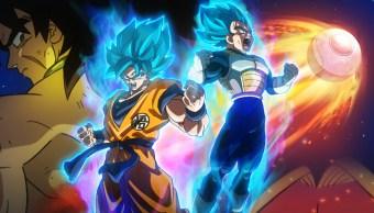Escena de Dragon Ball Super Broly