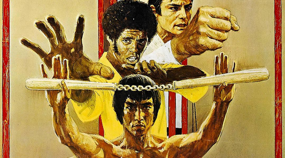 Poster de Enter the Dragon, película de Bruce Lee