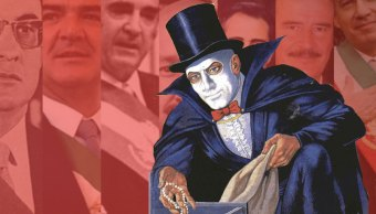 Fantomas, el anti héroe de editorial Novaro
