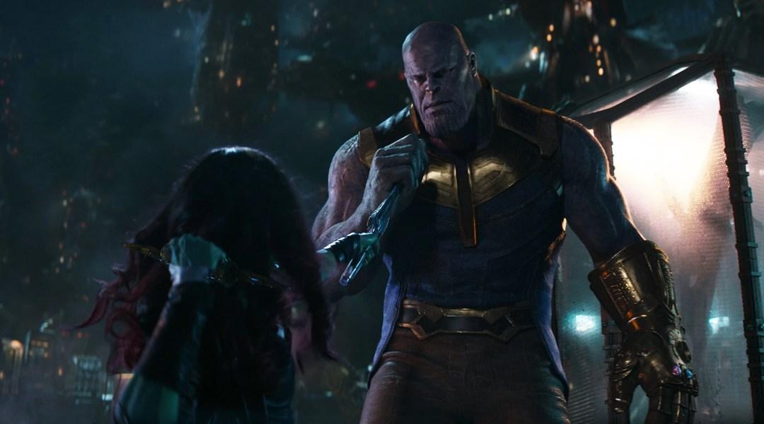 Avengers Infinity War Thanos-Gamora