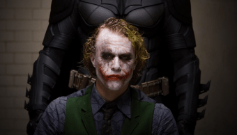 Una escena de The Dark Knight
