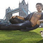 Estatua de Jeff Goldblum