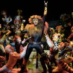 Una escena de la obra musical Cats