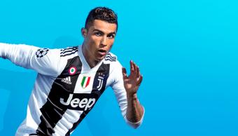 Cristiano Ronaldo en portada de FIFA 19
