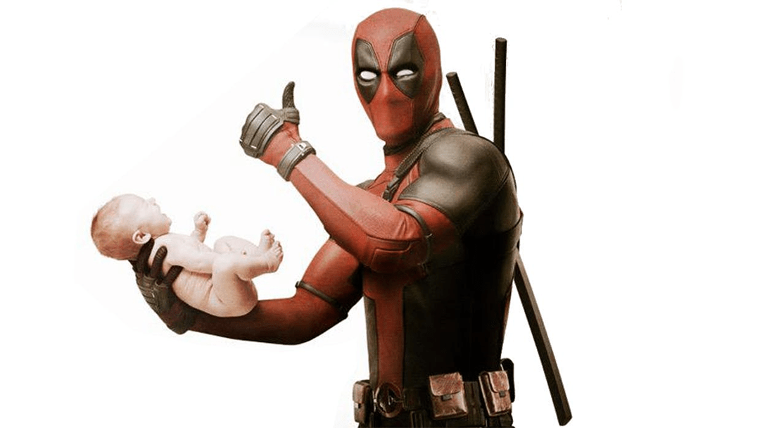 Póster promocional de Deadpool, película de Fox