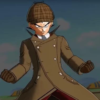 Primera imagen del personaje Detective Vegeta